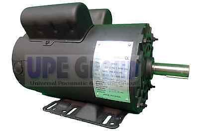 "5 HP 21 FL Amp electric motor for air compressor 56 Frame 7/8"" shaft diameter"