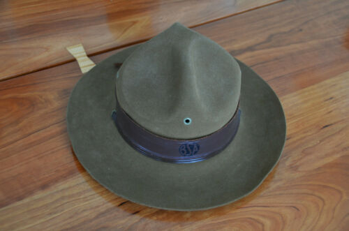 VINTAGE Boy Scouts of America Scout Master Hat  J B Stetson Size 7 Very Good