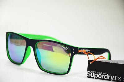 Superdry Sds Kobe 108 Damen Herren Unisex Kunststoff grün Sonnenbrille Neu