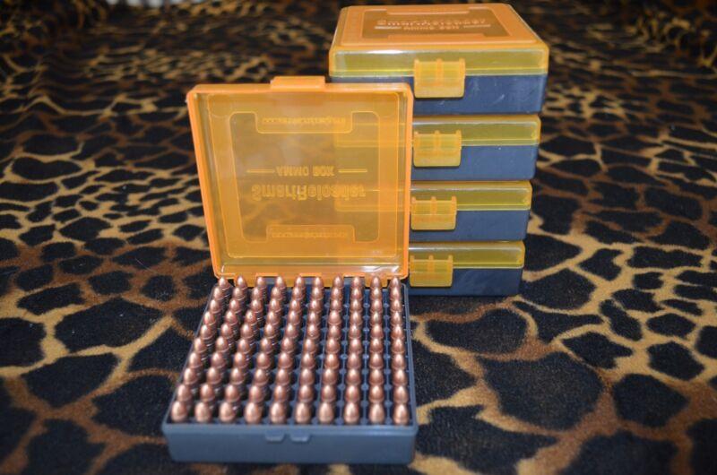 22 lr Ammo Case / Box  / (5 PACK) Capacity storage 100 Rounds per box (NO AMMO)