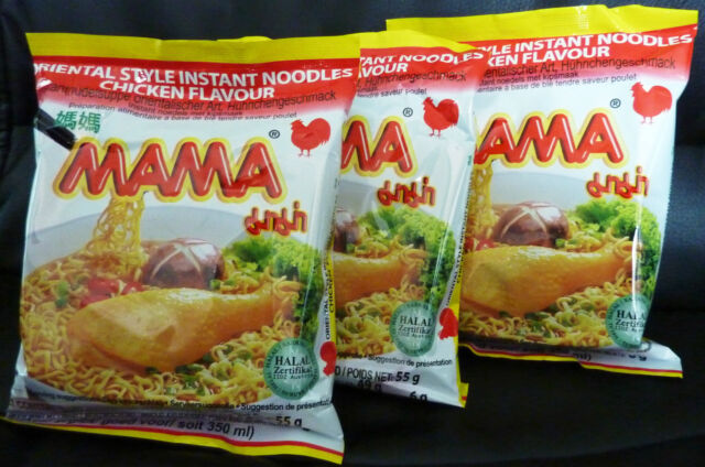 MAMA Suppen 6 x  Huhn/Chicken  55 gr. Instant Nudeln