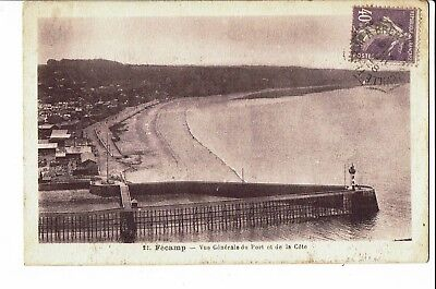 CPA - Carte postale -FRANCE -Fécamp - Son Port ,Sa Côte -1928 - S2040