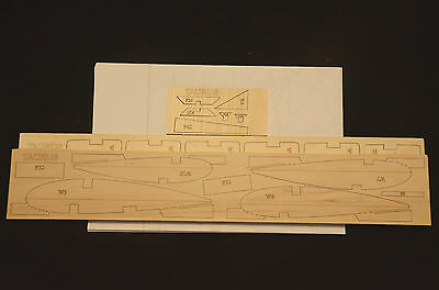 TAURUS Laser Cut Short Kit and Plans 70 in. wing span