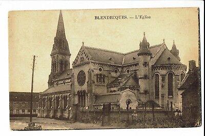 CPA - Carte postale -France - Blendecques Son Eglise - 1933 - S866