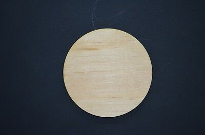 Laser Cut Wood Circle Wooden Craft Supply - Unfinished Wood Circle