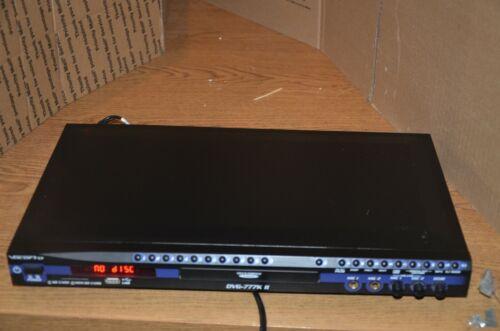 VocoPro DVG-777K II Professional Vocal Karaoke Player, SN:VP8A89AAA127010