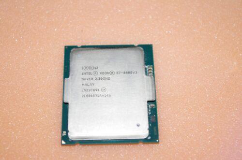 Genuine Intel Xeon E7-8880V3 CPU Processor 18-Core 2.30GHz SR21X E7-8880 V3