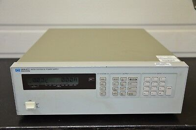 Agilent 6623a Multiple Output Power Supply 80w 3 Outputs