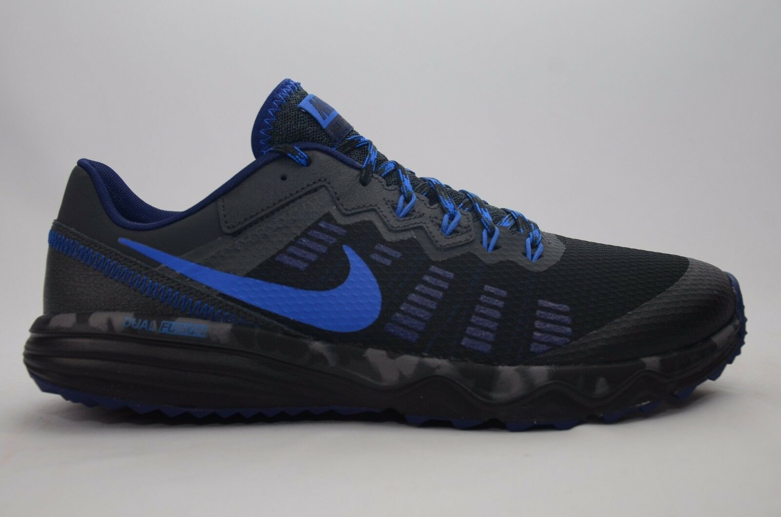 Nike - Nike Dual Fusion Trail 2 Black/Cobalt Men's Size 8-13 New in Box 819146 004