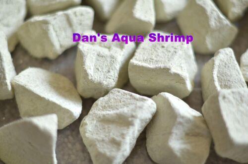 White Montmorillonite Stones Mineral Healthy Molting Breeding Shrimp Tanks 100g
