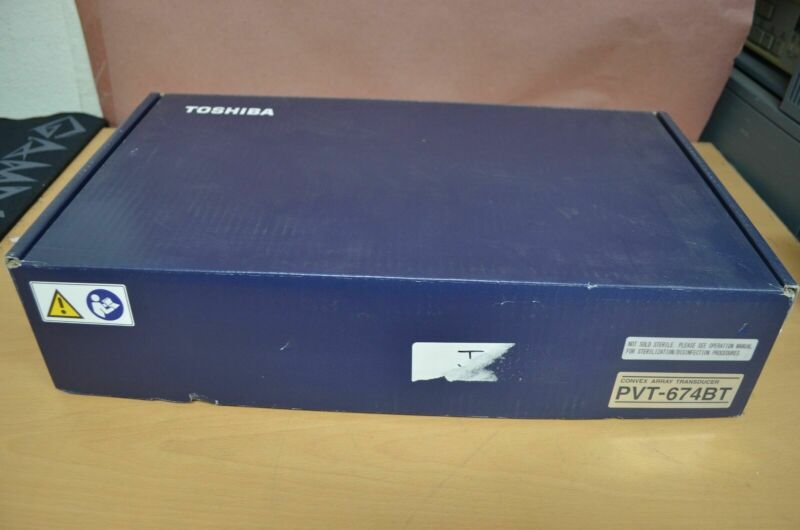 Toshiba Viamo PVT-674BT 6MHz Convex Transducer Ultrasound Probe