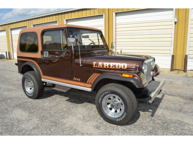 1985 jeep cj7 laredo 51k original miles used jeep other for sale in memphis tennessee. Black Bedroom Furniture Sets. Home Design Ideas