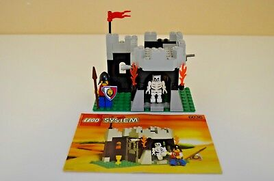 Lego Royal Knights Set Number 6036, Skeleton Surprise, Produced in 1995 - Set Number