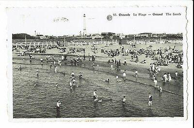 CPA - Carte postale - Belgique - Oostende - La plage - S975