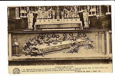 CPA-Carte postale-Belgique -Notre Dame au Bois (Jezus Eik)Banc de communion