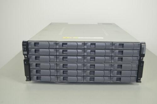 """NetApp DS4243 NAJ-0801 Rackmount Storage Drive Array w/24x 600GB SAS 3.5"""" Drives"""