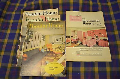 Lot 4 United States Gypsum Co  Publications  Popular Home    Idea File  Usg 50S