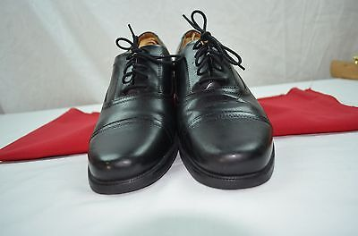 Clarks Black Leather Beeston Cap Toe Oxfords Style   26102889 Leather Upper