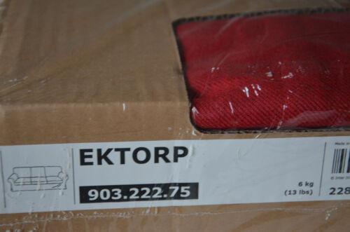 NEU IKEA Bezug EKTORP 3er Sofa Nordvalla rot 903.222.75 Couch red 3-Sitzer OVP