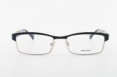POLICE Brille VK530 Col.0514 51[]16 125 Modern Eyeglasses Frame Blue Square