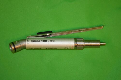 Zimmer Linvatec Hall Surgical Micro 100 Drill 5053-09