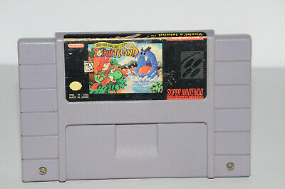 Super Mario World 2: Yoshi's Island (Super Nintendo SNES) Good Game Battery Save