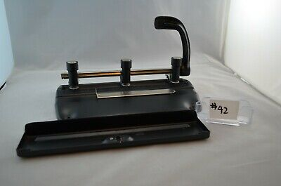 Master Products Manufacturer 3-hole Paper Puncher