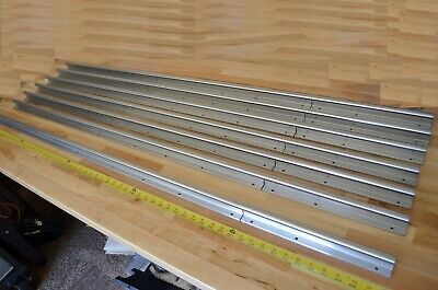 New 5ft Thomson Sra-10 Linear Lm Bearing Shaft Supported Rail 58 Dia. -thk Cnc