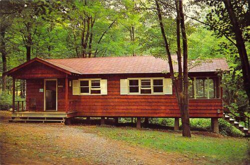 PA Goose Pond 1959-64 BOY SCOUTS OF AMERICA Shapiro Health Lodge 6x9 postcard