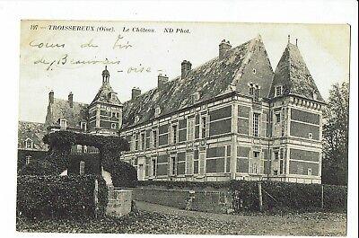 CPA-Carte postale-  France - Troissereux - Son Château -1916  S1897
