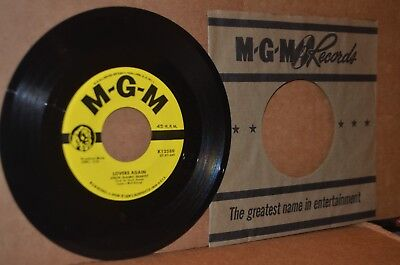 CHUCK ALAIMO QUARTET: LOVERS AGAIN & WHERE'S MY BABY; 1957 MGM 12589 MINT- 45