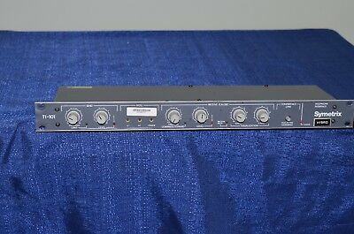 Symetrix TI-101 telephone interface rack mount pro audio broadcasting made n USA