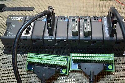 Automation Direct Complete System Analog Plc H2-dm1e