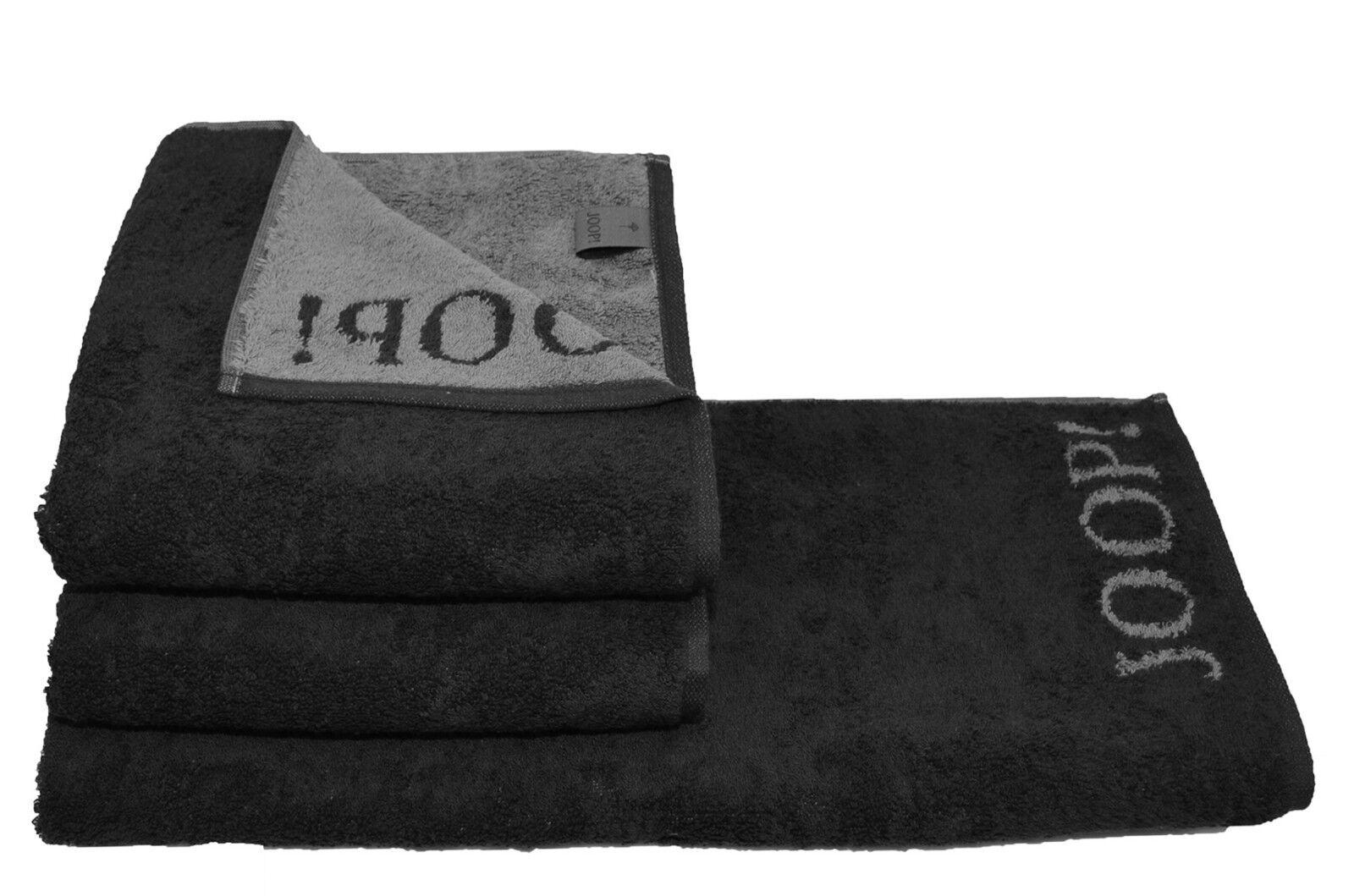 JOOP! 4x Handtuch Steakbesteck geschenkt + Serie 1600 schwarz Handtücher kaufen