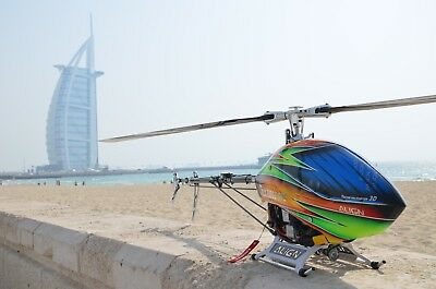 Align T-Rex 800E RTF Dubai Platino Versión Helicóptero RC + Futaba T16SZ...