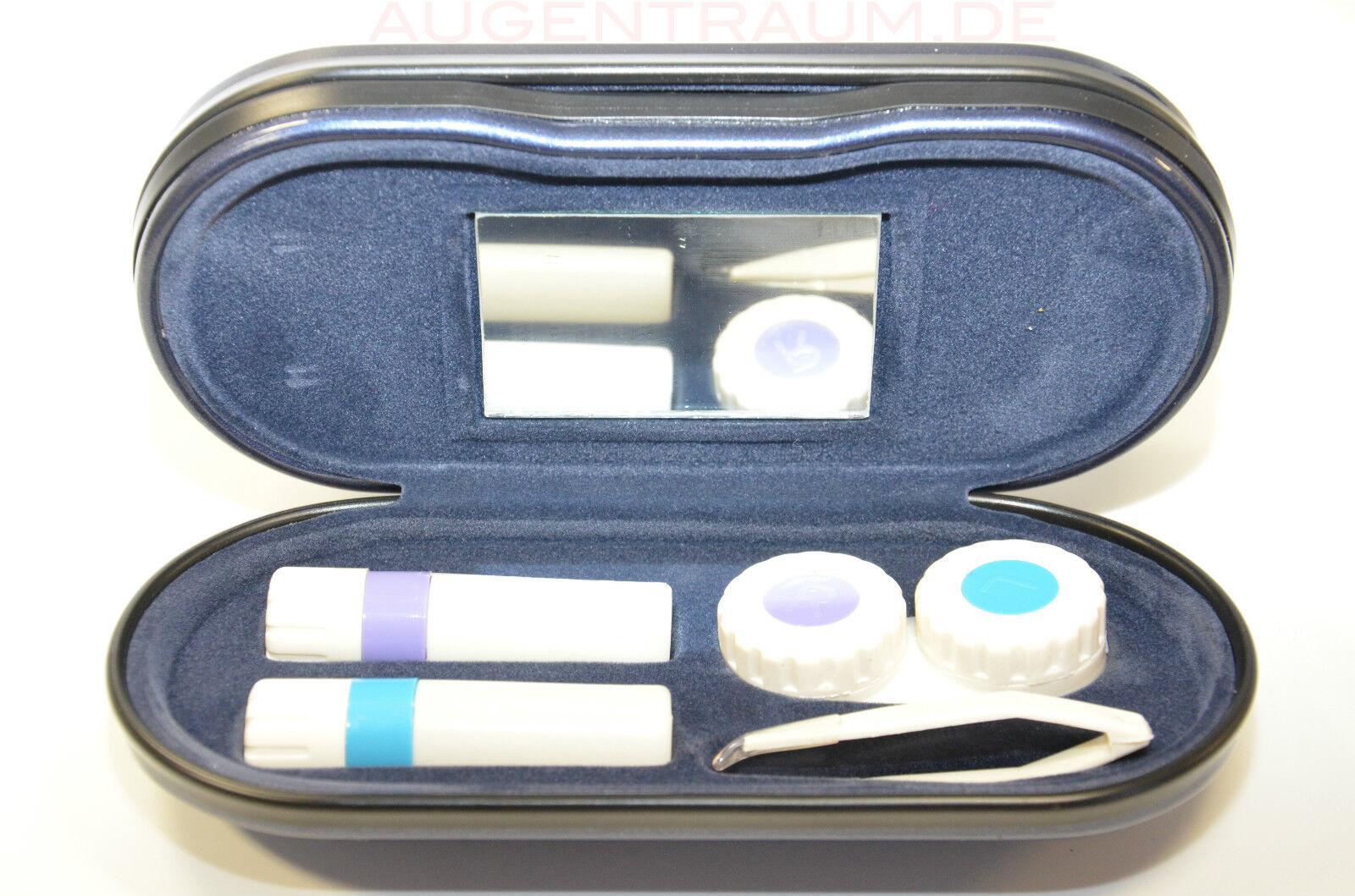 Brillen u Kontaktlinsen Kombietui Etui für Brille + Kontaktlinse Brillenetui Neu