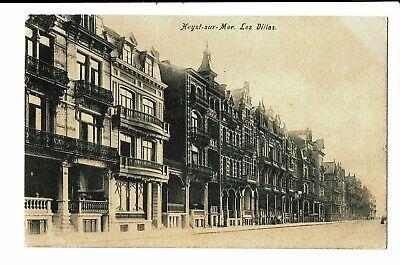 CPA Carte postale  Belgique -Heyst sur Mer - Les Villas-1909-VM3458