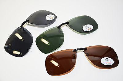 Sonnenclip Sonnenvorhänger Brillenclip für Change me Clip On polarisierend Neu