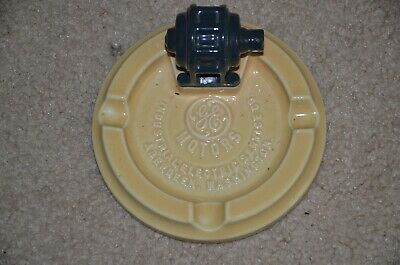 GENERAL ELECTRIC MOTORS ENGINE ASHTRAY INDUSTRIAL ELECTRIC SERVICES GE ABERDEEN