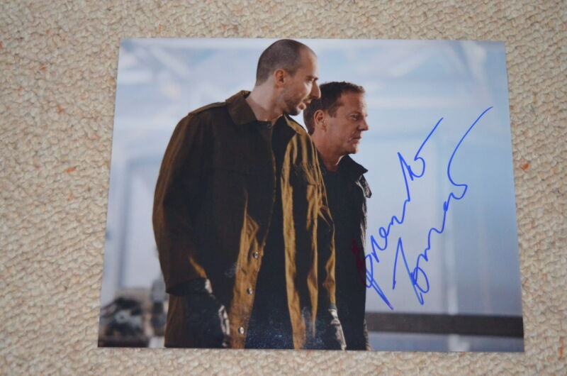 BRANKO TOMOVIC signed autograph  In Person 8x10 (20x25 cm) 24 : LIVE ANOTHER DAY