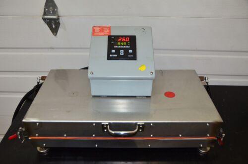 Den Plate 96-well Digital Dry Bath Heater Tube (12) Blocks W/ Extech 96vtr 220v