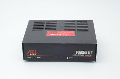 AEI Music System (DMX) Prosat III Satellite Audio Receiver 021875