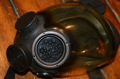Msa 7-1293-3 Small Full Face Gas Mask Respirator Riot Hazmat M1c3