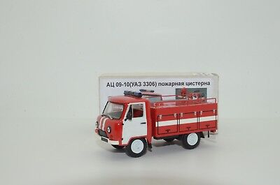 RARE !!! UAZ 452 3306 Fire Atz 09-10 Hand Made Vector Models 1/43 for sale  Shipping to United States