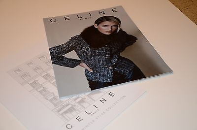 1997 1998 Celine Paris Fashion Collection Catalog Catalogue Model Moss