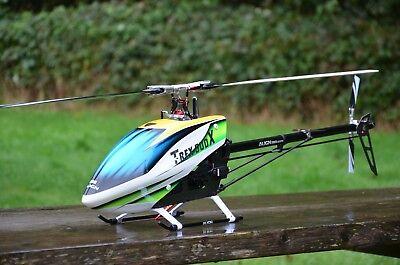 Align 500X Dominator RTF Helicóptero + Axón Piloto Automático + Futaba T12K