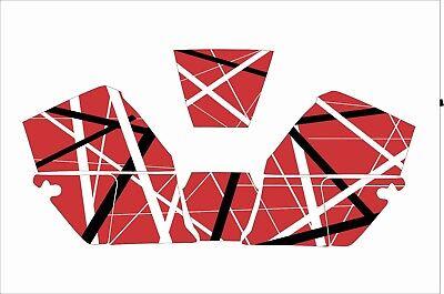 Jackson Wh60 Hsl100 Wf60 W30 Nexgen Welding Helmet Decal Sticker Eddie Van Halen
