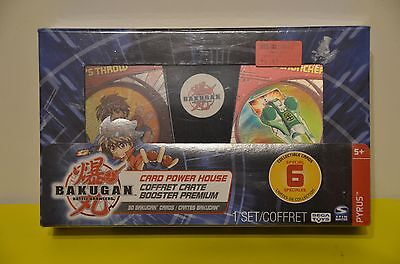 Bakugan Card Power House 6 Special Collectible Cards 30 Cards total Sega Toy NIB