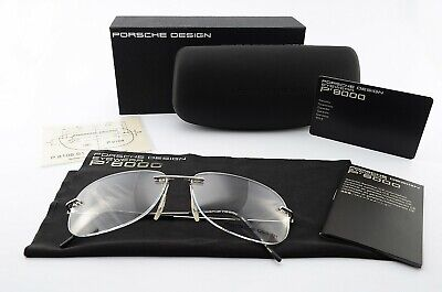 PORSCHE DESIGN P´8108 S1 A 58[]14 135 Brille Titanium Rimless Eye Frame Japan (Porsche Eye Frames)