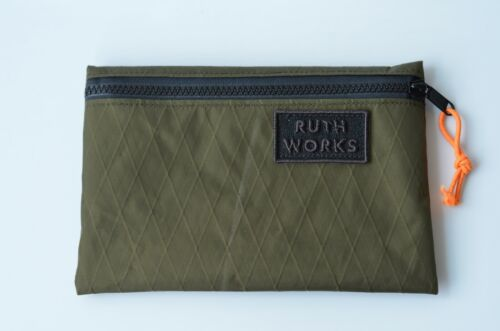 Zip Pouch Ultralight Xpac Small Olive